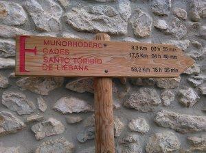 Pilgern nach Santo Toribio