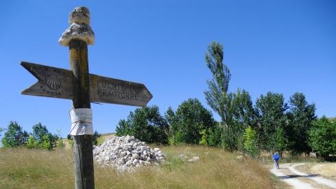 Auf dem Camino Francés ... in der Meseta